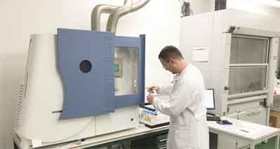 NES Labor III für Plasma Analytik