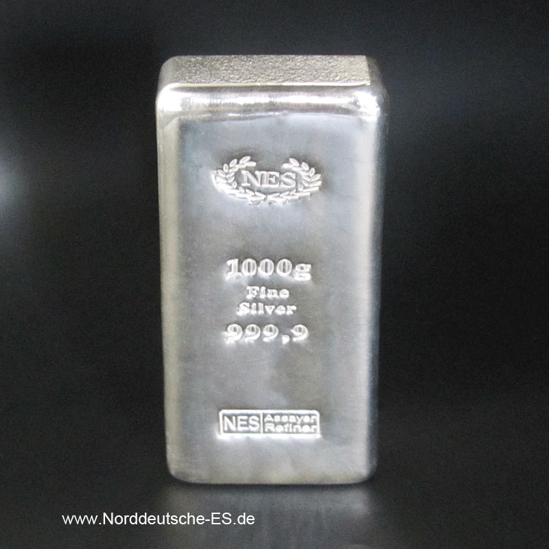 NES Silberbarren-1Kg