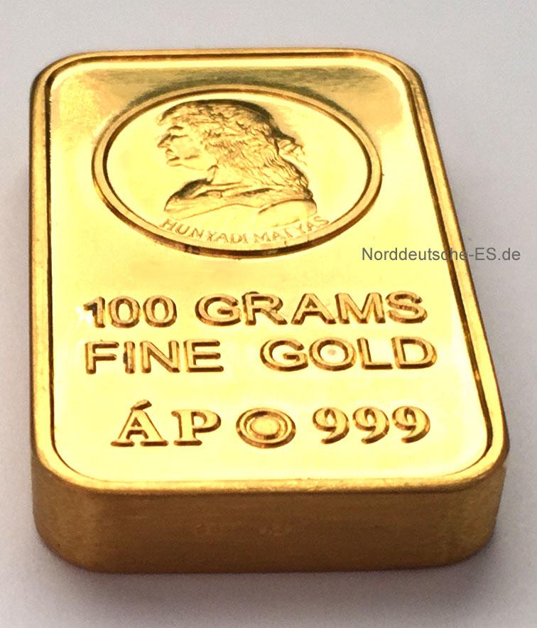 Goldbarren Ankauf