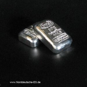 50g Silberbarren 9999 Norddeutsche