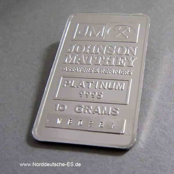 Barrenankauf Platinbarren-10-Gramm-9995-matthey