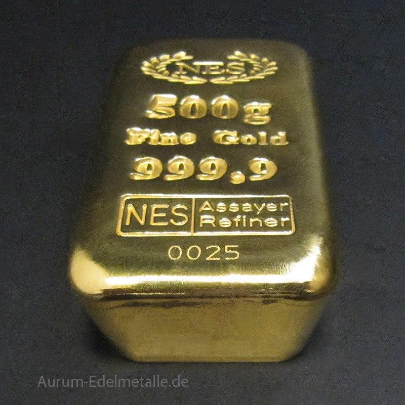 Goldsparplan Goldbarren-500g-NES