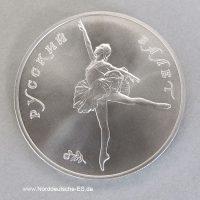 Palladiummuenze Russland-1-unzen-Ballerina-25-Rubel-1991